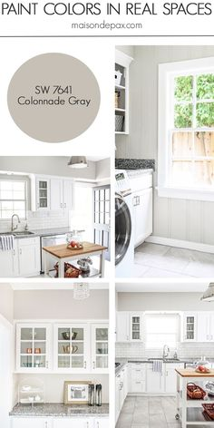 Colonnade Gray (SW 7641) by Sherwin Williams: see paint colors in real spaces in this home tour full of lovely, nature-inspired neutrals   maisondepax.com