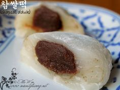 Mochi with Red Bean Paste
