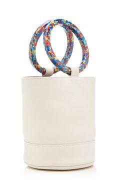Get inspired and discover Simon Miller Handbags trunkshow! Shop the latest Simon Miller Handbags collection at Moda Operandi. Mini Handbags, Leather Handbags, Leather Bag, My Bags, Purses And Bags, Tribal Bags, Diy Handbag, Estilo Fashion, Handmade Handbags