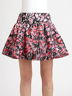 RED Valentino Lily of Valley Skirt