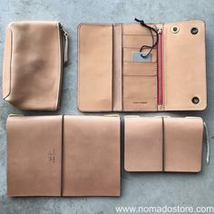 Gorgeous natural leather accessories by #thesuperiorlabor & #crootsengland. #superiorlabor leather pouch, A5 & A6 notebooks & the ever-popular #croots Worker Wallet. Check them out on our web site. #wanderlust #travel #nomadostore #stationery #analog #loveforanalogue #handmade #edc #stationerylove #instafashion #writing #planner #plannerlove #notebook #leathercraft #britishmade #crootsbags @amtraq @crootsengland