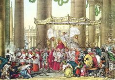 The Feast of Corpus Christi - Celebrated in the Latin Church on the Thursday after Trinity Sunday to solemnly commemorate the institution of the Holy Eucharist