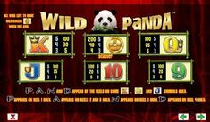 Wild Panda online slot machine pictures and slot feature list from NYX, play Wild Panda Slots for free. Panda Online, Wild Panda, Coin Values, Casino Bonus, Slot Machine, Panda Bear, Free Games, Nyx, Play