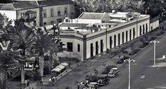 Estaba junto a la Alameda del duque Santa Elena. Tenerife, Mansions, House Styles, Santa Cruz, Canary Islands, Duke, Antique Photos, Past, Teneriffe