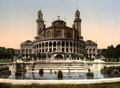 The Trocadero, Exposition Universal, 1900, Paris