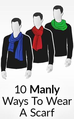 """Scarves are a woman's accessory"" At least - that's what people will try and claim. Wrong. 100 years ago when open cockpits were standard... pilots wore a silk scarf around their neck to keep warm and prevent chafing. For thousands of years, militaries have used them to differentiate"