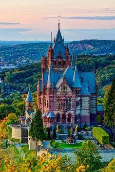 Drachenburg Castle, Germany.