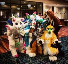 Photo from Megaplex of me, @FoamSammich @SyberWuff and @yellow_fr3ak I dont know why Syber's finger is by my nose xD