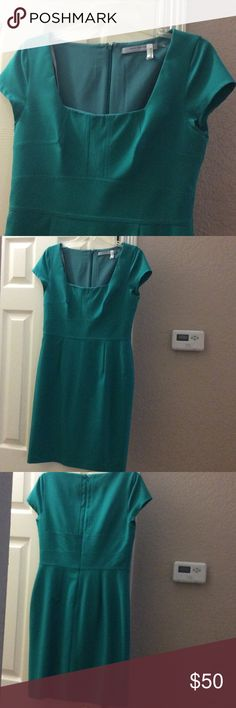 Beautiful and classy Marc New York Dress Beautiful tone of green dress. Worn once for a wedding. This dress has been already dry cleaned... Mark New York/ Andrew Marc Dresses Midi