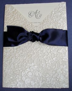 Ivory and Navy From Clover Creek