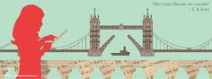 Bish Bash Books Website Graphics: Girls Reading in London