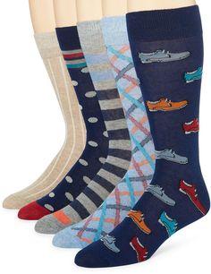 STAFFORD Stafford 5-pk. Cotton-Rich Crew Socks - Big & Tall