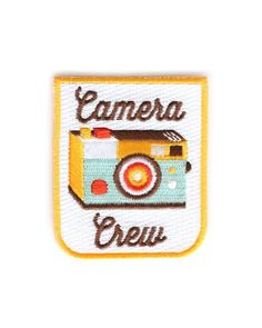 Do you like cameras? Do you own a camera? Do you think technology is just the coolest thing?Then you're in the Camera Crew!! Snag this patch and show the world