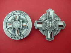History Of Nursing, School Badges, National Health Service, Nursing Pins, Vintage Nurse, Nurse Badge, Nursing Students, Vintage Pins, History Facts