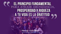 EL PODER DE LA GRATITUD....