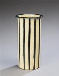 Vare: 4330150 Kähler. Vase af lertøj