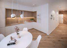10 Inspiring Modern Kitchen Designs – My Life Spot Kitchen Room Design, Modern Kitchen Design, Living Room Kitchen, Home Decor Kitchen, Interior Design Kitchen, Dining Rooms, Kitchen Ideas, Modern Kitchen Interiors, Interior Modern