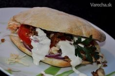 Kurací kebab a pita chlieb (fotorecept) - recept | Varecha.sk