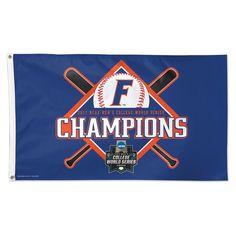 Florida Gators WinCraft 2017 NCAA Men's Baseball College World Series National Champions One-Sided 3' x 5' Flag