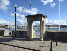 The Mayflower Steps, Barbican, Plymouth  This is the place (well, near enough!) from which the Pilgrim Fathers are believed to have left E...