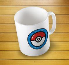 Pokemon Go Blue Team Mystic Pokeball Mug #teamshirt #teamgift #pokemonshirt #pokemont-shirt #pokemongo #teammystic #teampokeball #pokeballshirt #teampokemon #mugs #mug #whitemug #drinkware #drink&barware #ceramicmug #coffeemug #teamug #kitchen&dining #giftmugs #cup #home&living #funnymugs #funnycoffecup #funnygifts
