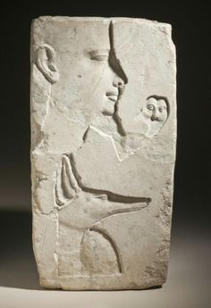 Artist's Trial Piece. Limestone. Late Period. 26th dynasty, c. 570 - 525 B.C. | Los Angeles County Museum of Art