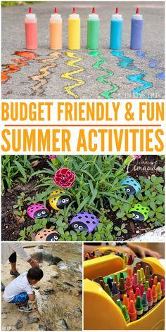 Budget Friendly & Fun Summer Activities