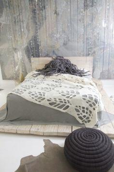 make pouffes out of long tubes of tshirt fabric like in snail pottery , dread lock felt sushion or lighting Ronel Jordaan www.roneljordaan.com #roneljordaan