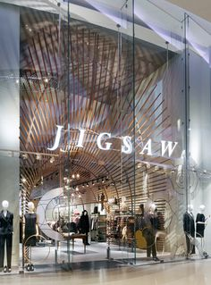 Westfield Flagship Just as Jigsaw opened their first store in 1972 �to sell stylish clothes in inspiring surroundings� the store for Westfield, London has been designed with this in mind. Checkland Kindleysides is an independent design consultancy, specialising in retail design, graphics, brand identity, commercial interiors and interactive design.