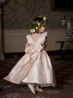 Sweet Flower Girl dress by Nicki MacFarlane