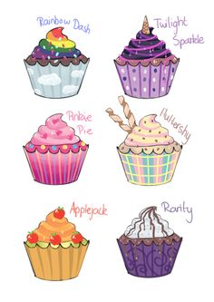 my_little_cupcakes_by_ayakaineco-d6um6mu