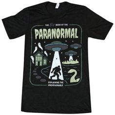 'Paranormal' Glow in the Dark Shirt