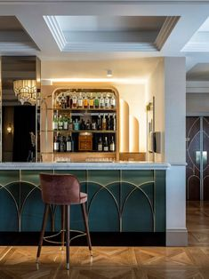 Art deco opulence meets regional charm at The Tattersalls Hotel, a recent restoration project by hospitality design connoisseurs Luchetti Krelle. Architecture Restaurant, Restaurant Design, Restaurant Bar, Bar Design Awards, Interior Design Awards, Bar Interior, Art Deco Hotel, Wooden Fireplace, Australian Interior Design