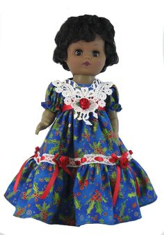 Holly Dress for Goodfellow Dolls