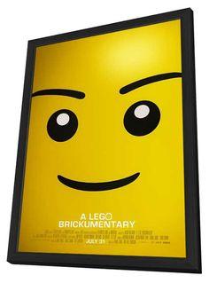 Beyond the Brick: A LEGO Brickumentary 11x17 Framed Movie Poster (2014)