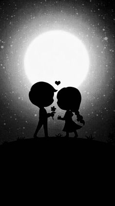 See wallpapers and ringtones from at Zedge now. Cute Love Images, Cute Love Gif, Dark Black Wallpaper, Love Couple Wallpaper, Love Wallpapers Romantic, Cute Panda Wallpaper, Cute Cartoon Pictures, Cute Couple Art, Girly Drawings