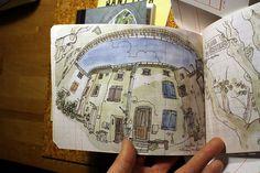 Sketchbook art by Swasky