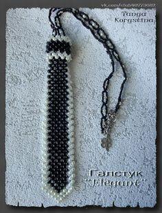 галстук | biser.info - всё о бисере и бисерном творчестве