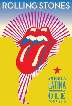 Get ready Latin America…the Rolling Stones are coming! The AMERICA LATINA OLÉ stadium tour kicks off on February in Santiago, Chile. Tickets on sale from November The Rolling Stones, Lengua Rolling Stones, Mexico City, Concert Rock, Rollin Stones, Tour Posters, Music Posters, Band Posters, Pokemon