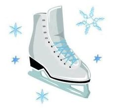 Clip Art Ice Skates Clipart figure skating clip art painting pinterest skating