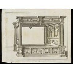 Furniture design - Verscheyden Schrynwerck...geordeneert en geteyckent Door...Paulus Vredeman De Vriese...