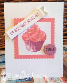 Sweet Cupcake stamp