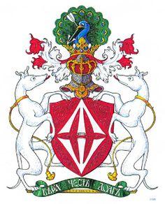 полный герб Ростроповичей