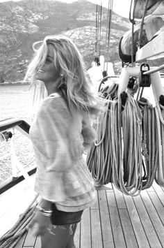 She loves to sail to new horizons