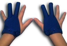 Glovey Huggey ~ Royal Blue ~ Gloves to help stop finger sucking $39.99