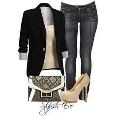.A woman always needs a well tailored black blazer