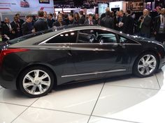 GM's Cadillac luxury brand has pulled the wraps off the 2014 ELR, which is seen as being the Volt's higher end sibling making use of similar green car tech.