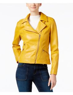 faux-leather-moto-jacket,-only-at-macys by inc-international-concepts. #newtrend #fashionabledress #women'sfashion #outfit #shoptagr