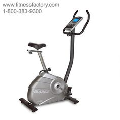 Bladez Fitness U300 Upright Bike - BHU300  With a feature set not normally seen in its price range, the U300 provides a wide range of adjustability with full vertical and horizontal seta adjustments.  The U300 keeps you motivated with a wide range of programs and intensity levels all controlled by a console with a beautiful blue backlit LCD display.