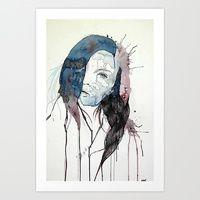 Art Print featuring Faded by Daniel Plaskett